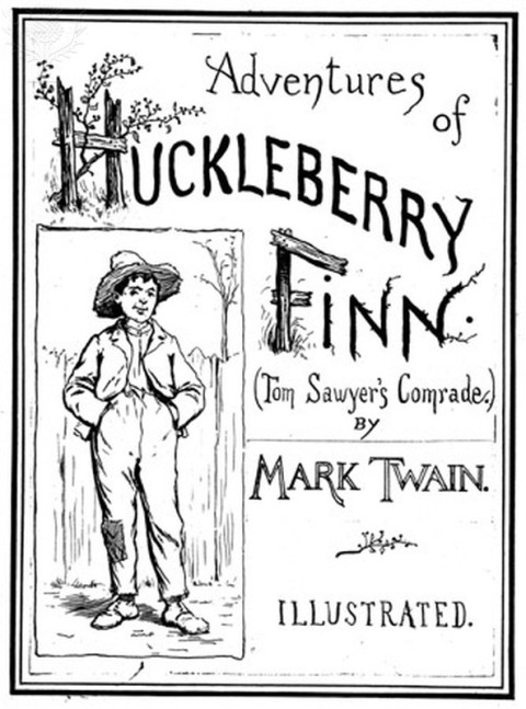 huck finn book cover