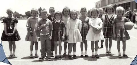 first grade playgroud