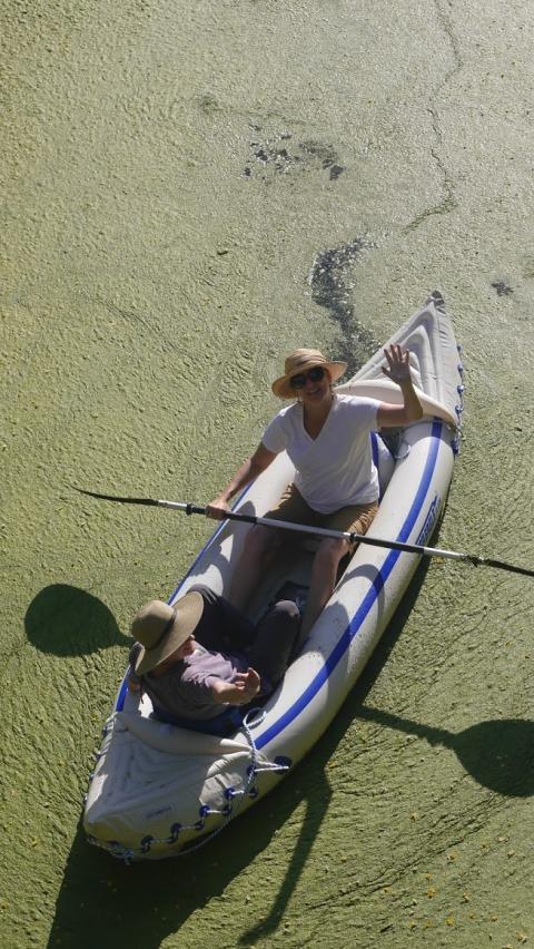 kayak wake